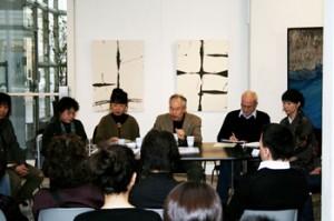 Gesprächsrunde in der Galerie M, Berlin 2008